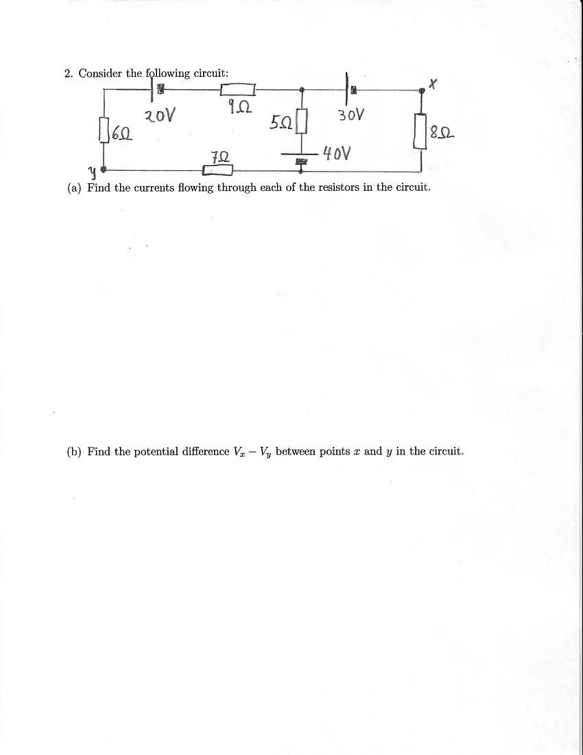 Physics 1112 Practice Topic 08 Dc Electric Circuits Potential Difference In Pt