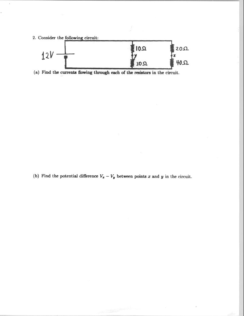 Physics 1112 Practice Topic 08 Dc Electric Circuits How To Solve A Circuit Electrical Pt