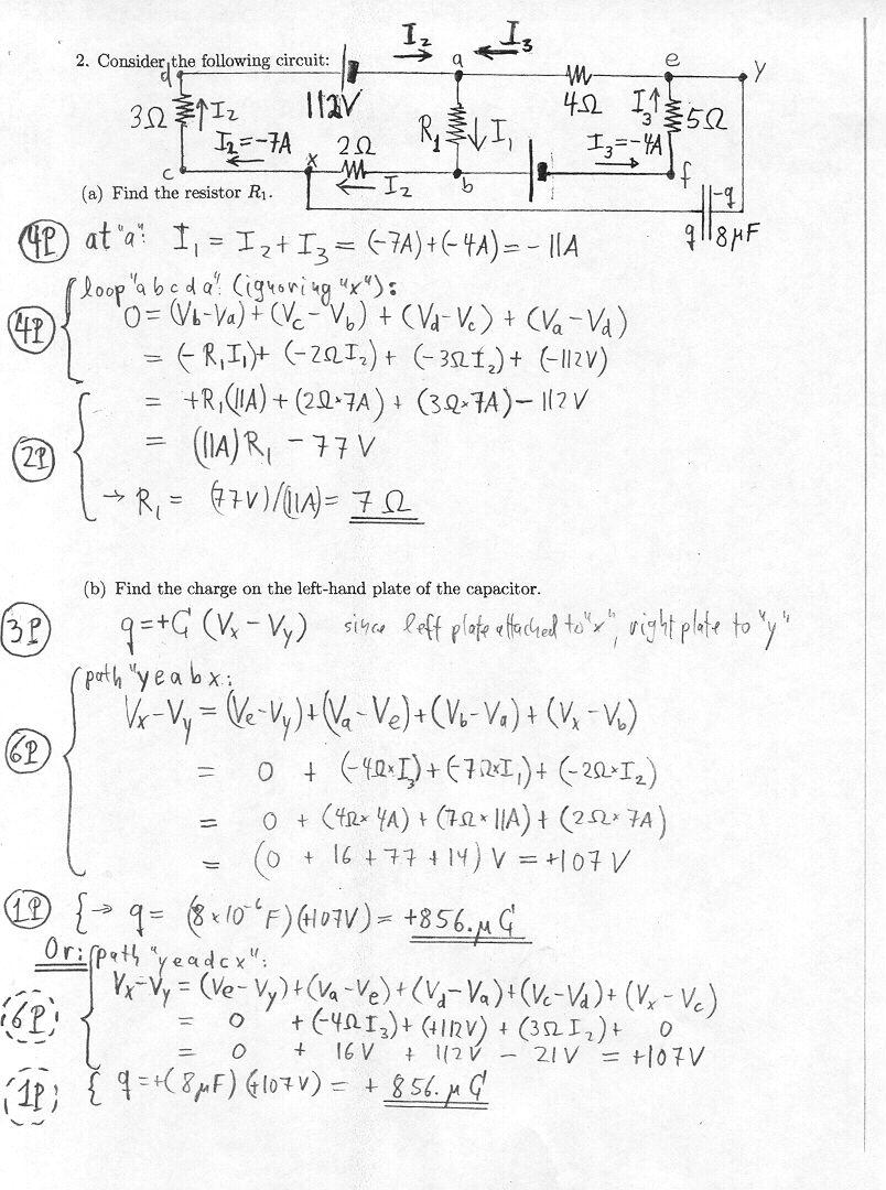 Physics 1112 Practice Topic 08 Dc Electric Circuits Pt